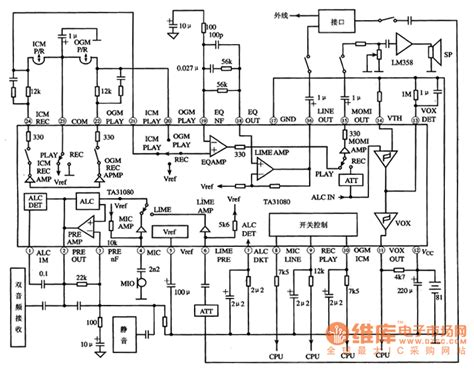 analog integrated circuits design for processing physiological signals ta31080 the integrated process circuit of analog audio signals audio circuit circuit
