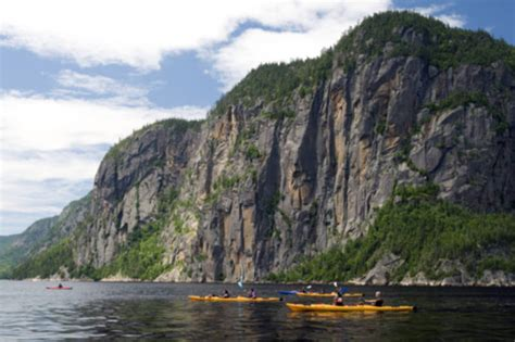 fjord quebec fjord route saguenay lac saint jean tourist routes in