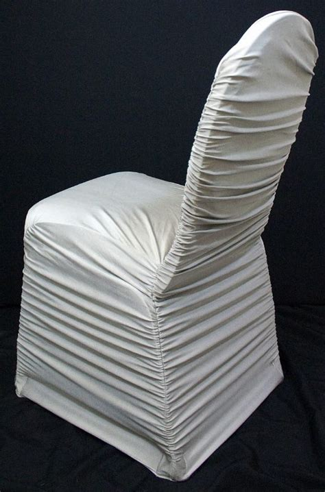 Ruched Chair Covers by Anyone Else Doing Black And White Post Your Decor