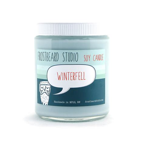 scented soy candle unique candle book lover s candle winterfell soy candle book lovers scented soy by frostbeard