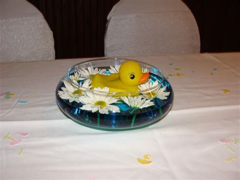 rubber duck baby shower centerpieces baby shower centerpiece rubber ducky baby shower