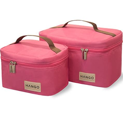 Lunch Box Kertas Size M hango insulated lunch box cooler bag set of 2 sizes large