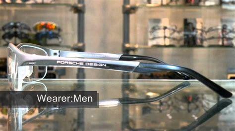 Porsche Design Titanium Glasses by Porsche Design P8182 Titanium Semi Rimless Eyewear眼鏡 Youtube