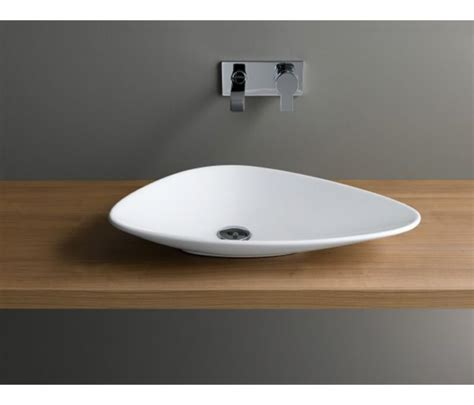 countertop bathroom basins vitra options piu due triangular countertop basin uk