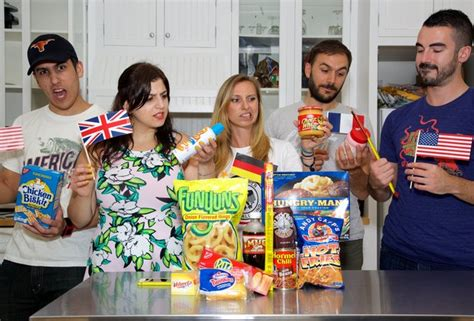 america s white trash europeans on american food europeans taste test american