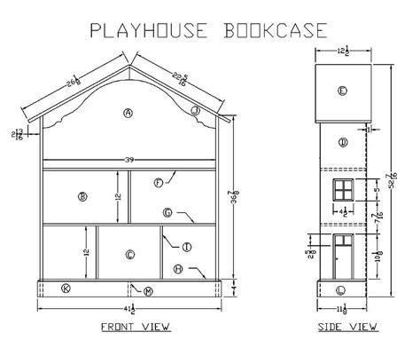 Playhouse Floor Plans Wooden Playhouse Plans 171 Floor Plans