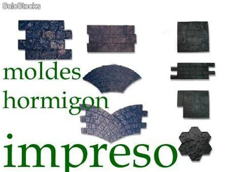 moldes hormigon impreso segunda mano novedad moldes para hormigon impreso