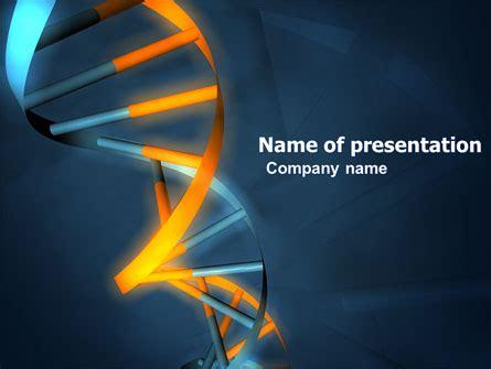 template powerpoint genetics genes in dna powerpoint template backgrounds 03516
