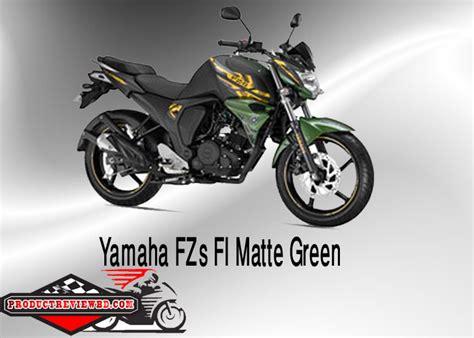 Yamaha FZ S FI Matte Green Motorcycle Price in Bangladesh