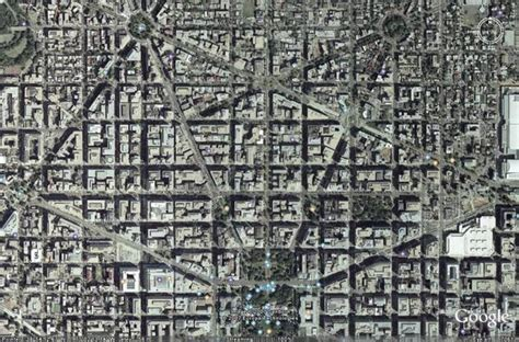 washington dc road map pentagram laws of silence from above
