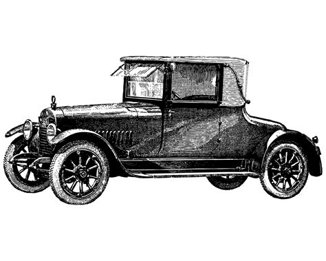 vintage cars drawings free vintage clip art images vintage cars and coaches