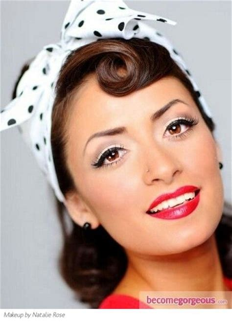hair and makeup in the 1950s 1950s makeup makeup beauty pinterest make up