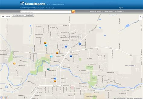 Crime Search By Address Crime Reports Polk County Oregon Official Website