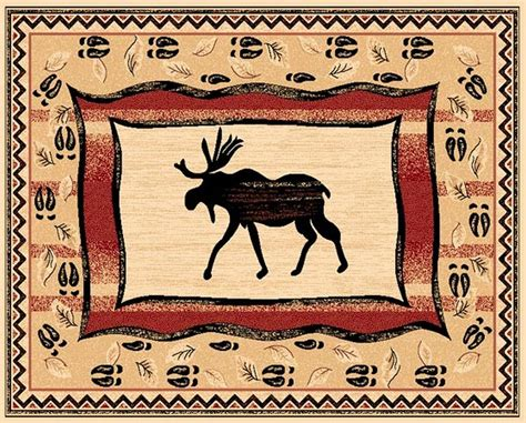 backyard grill climax nc moose area rug moose wilderness rustic area rugs moose