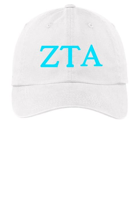 zta colors zta zeta tau alpha choose your colors sorority cap