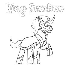 king sombra coloring pages mlp king sombra coloring page coloring pages