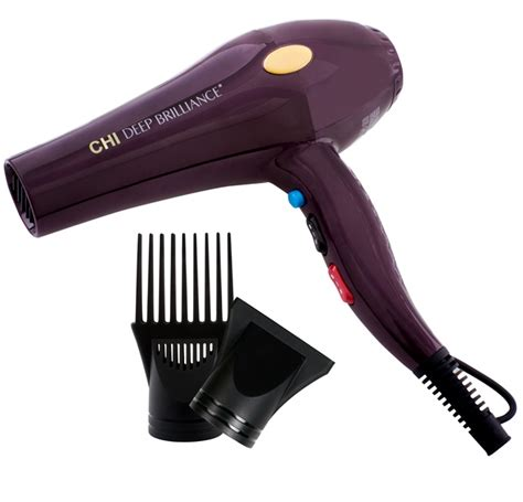 Hair Dryer With Attachments India sophisticates black hairstyle features the chi brilliance