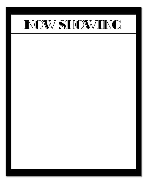 printable movie poster template movie night fun all for the boys
