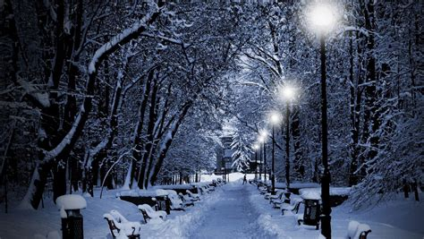 winter night wallpaper desktop new hd wallpapers winter pc