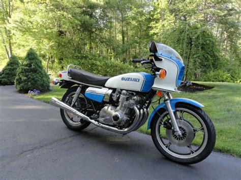 1979 Suzuki Gs1000 Sunday Flashback 1979 Suzuki Gs1000s Wes Cooley Replica