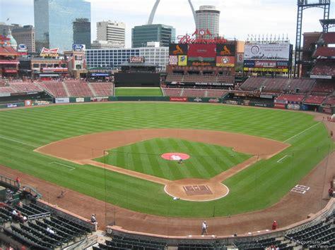section 140 busch stadium 100 busch stadium seating map cardinals st louis