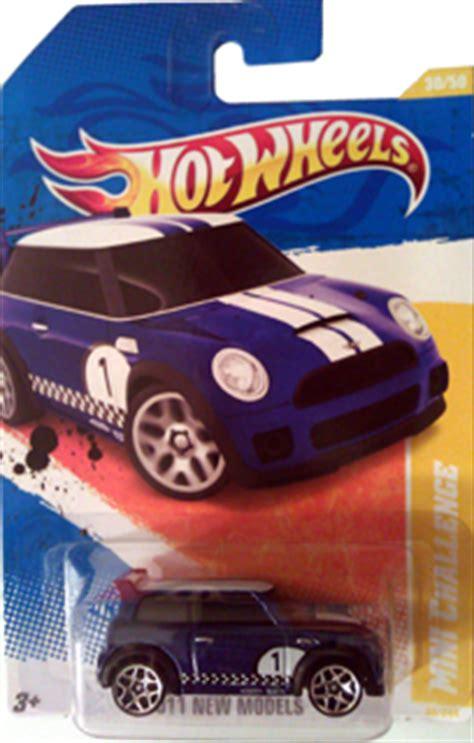 Hotwheels Mini Cooper Challenge Blue Biru Die Cast Library Of Motoring An Collection Of