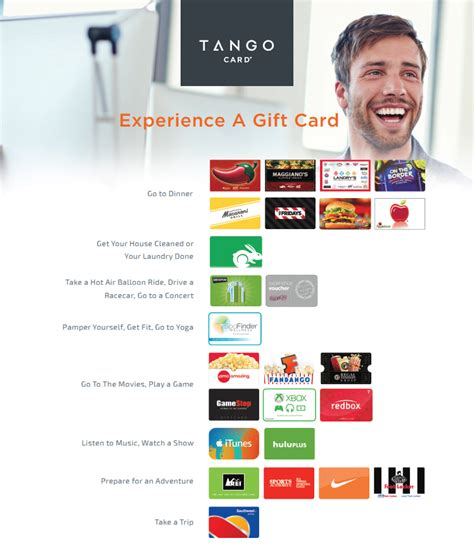 Experience Gift Cards - gift cards create impactful experiences