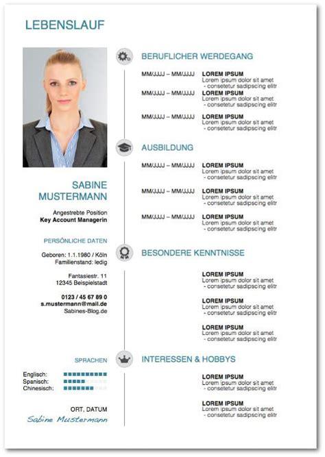 Lebenslauf Foto Muster bewerbung vordrucke kostenlose word muster karrierebibel de