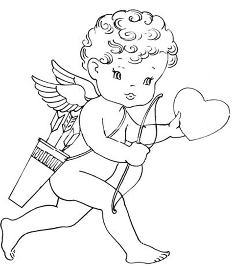 valentine angels coloring pages 89 best images about elfe ailes on pinterest coloring