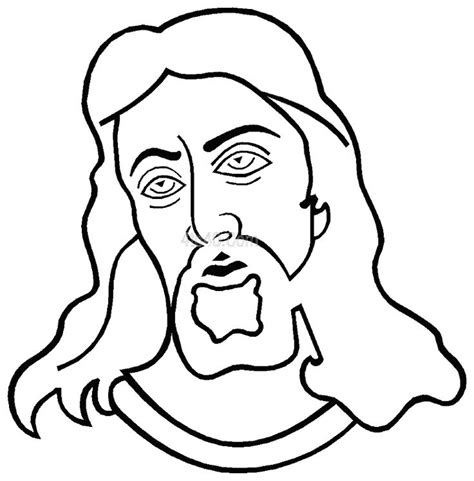 coloring page of jesus face print and coloring holy face of jesus image lesson 13
