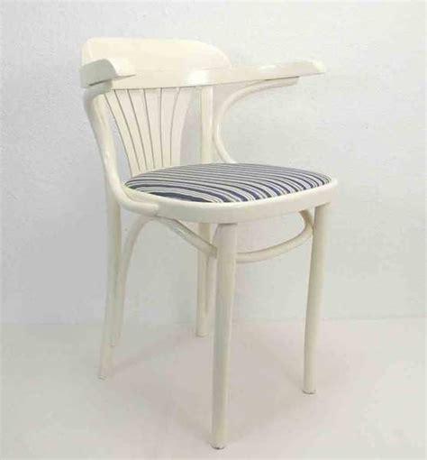 stuhl blau weisser stuhl armlehnstuhl holz stoff blau weiss