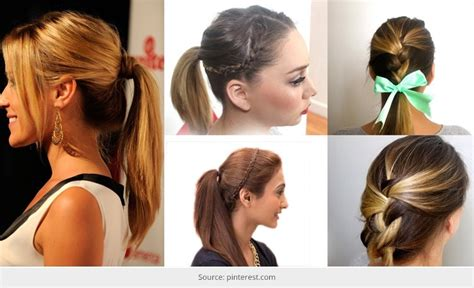 Easy To Do Hairstyles try these easy to do hairstyles for a s out