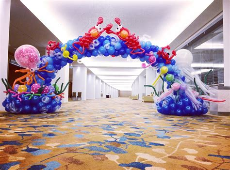 Balloon Arch Decorations by Balloon Arch Decorations That Balloons