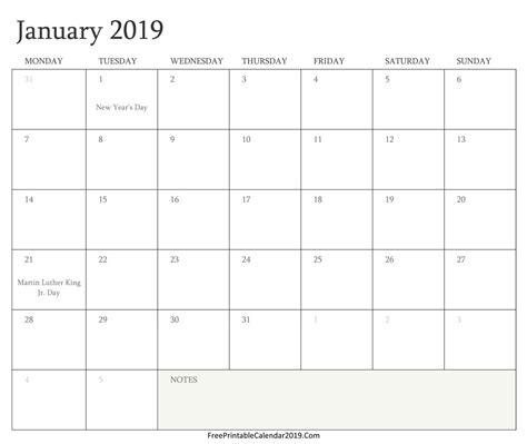 printable  calendar  holidays premieredance calendar template