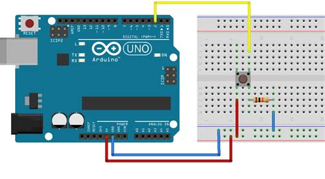digital input pull up resistor arduino workshop for beginners