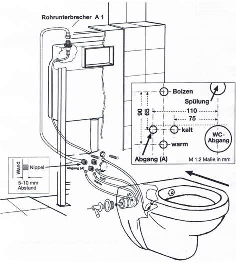 bidet montageanleitung temtasi solina taluna dusch wc und bidet in einem