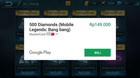 Jasa Pembuatan Akun Mobile Legends Ios Dan Android Murah cara beli diamonds mobile legends dengan pulsa tanpa kartu