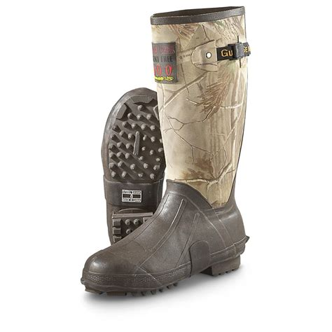 mens rubber boots guide gear s 15 quot insulated rubber boots 400 grams