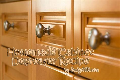 kitchen cabinet grease remover homemade cabinet grease remover got grease here s how to