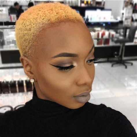 black hair shaved styles shaved hairstyles for black women essence com