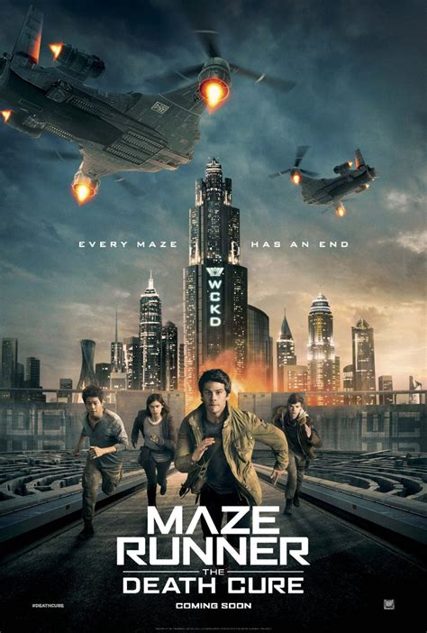 film maze runner 3 maze runner the death cure gets a new movie poster