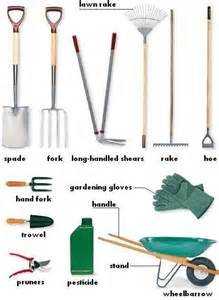gardening tools gardening tools the outdoors vocabulary pinterest