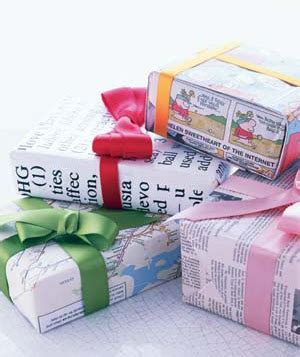 can gift wrap be recycled patent pending projects recycled wrapping paper project