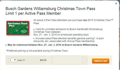 Ordinary Busch Gardens Williamsburg Christmas Town Coupons #3: Christmas-town-member-discount1.jpg