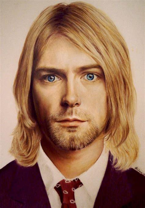 Kurt Cobain Hairstyle by Kurt Cobain By Luceene K On Deviantart