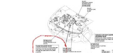 mazda mazda6 wondering where i would find the purge valve