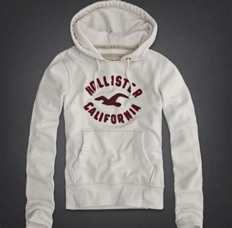 accessories hollister womens mens details about hollister white ivory hoodie jacket men s