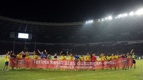 arsenal indonesia pictures indonesia dt 0 7 arsenal news arsenal com