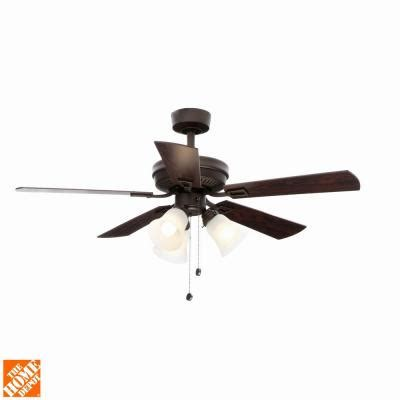 discontinued harbor ceiling fans hton bay sinclair 44 in rubbed bronze ceiling fan
