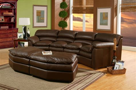 canyon sectional canyon leather sofa 183 leather express furniture